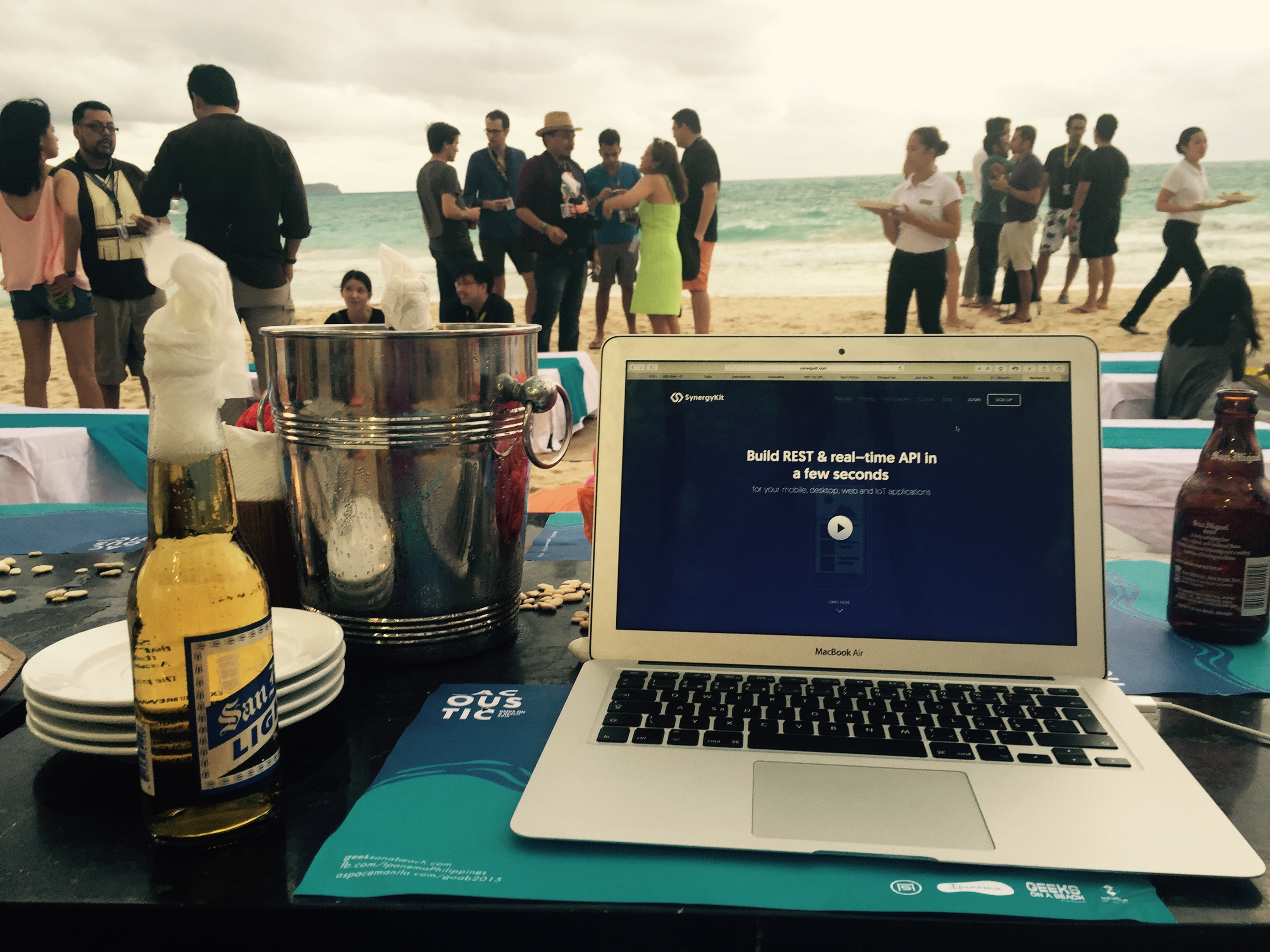 SynergyKit at Geeks On a Beach